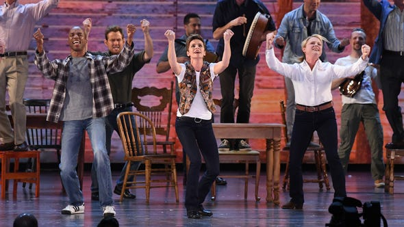 The cast of 'Come From Away' performs 'Welcome to the