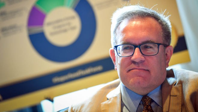 Acting head of the Environmental Protection Agency Andrew Wheeler.