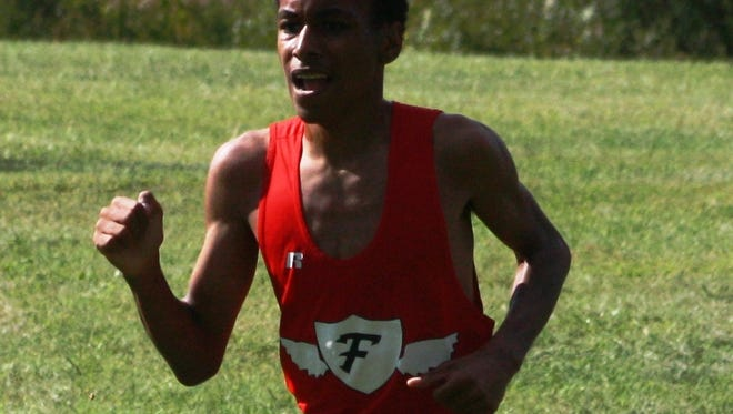 Junior Tony Floyd has been a major contributor to the Livonia Franklin cross country team's success this season.
