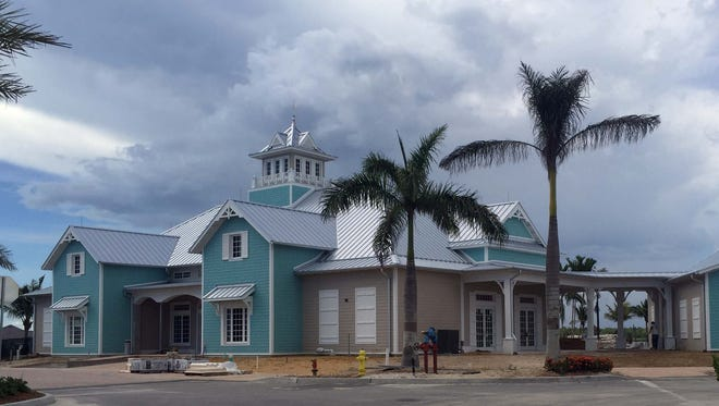 Naples Reserve Lakeshore Club clubhouse and fitness center.