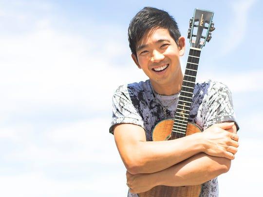 Jake Shimabukuro will play at Live at the Ludlow Garage