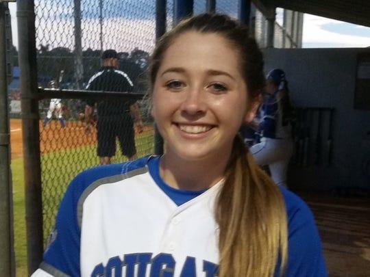 Chloe Freischmidt, Barron Collier softball