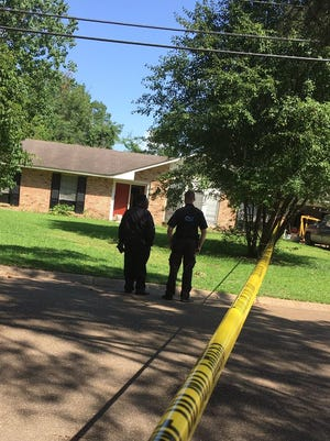 Officers on the scene of a Father's Day shooting on Springridge Drive.