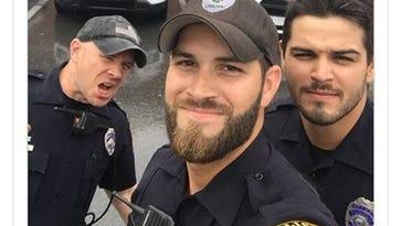 Photos of Florida officers responding to Irma go viral, draw appreciation