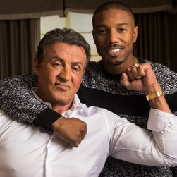 'Creed II': Stallone shares fan art with Rocky, Ivan Drago and their protégés