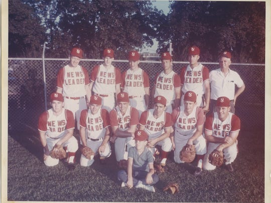 This is a photo of the 1966 News-Leader fast-pitch