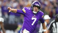 The Vikings, losing to the New Orleans Saints, were down to their final play