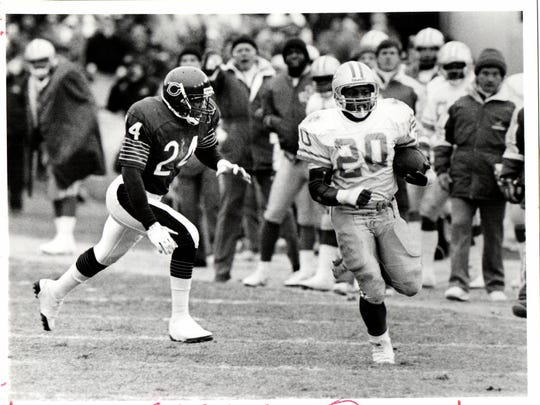 Barry Sanders rushed for more than 500 yards in the final five games of his rookie season in 1989.