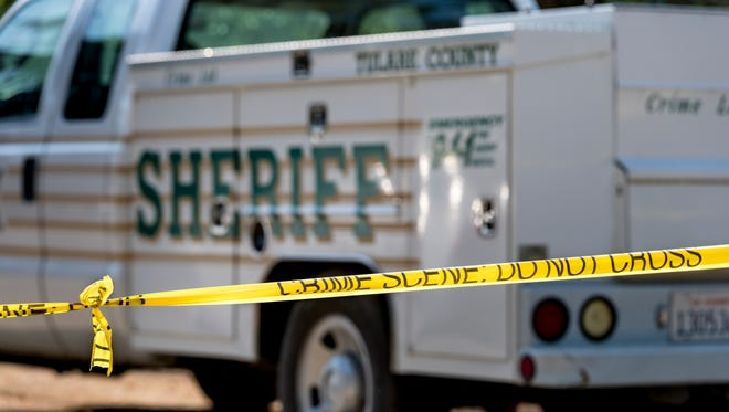 Tulare County Sheriff Department continues an investigation into a shooting in the 31800 block of Road 138 that left three family members dead late Wednesday.