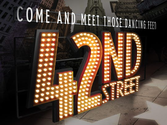 "The national tour of ""42nd Street"" visits Ames on Oct. 4."