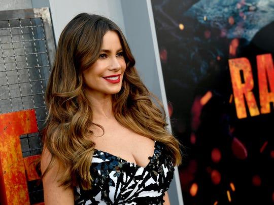 Actress Sofia Vergara at a movie premiere in April.