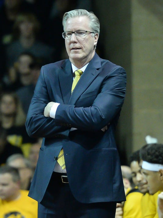 NCAA Basketball: Colorado at Iowa