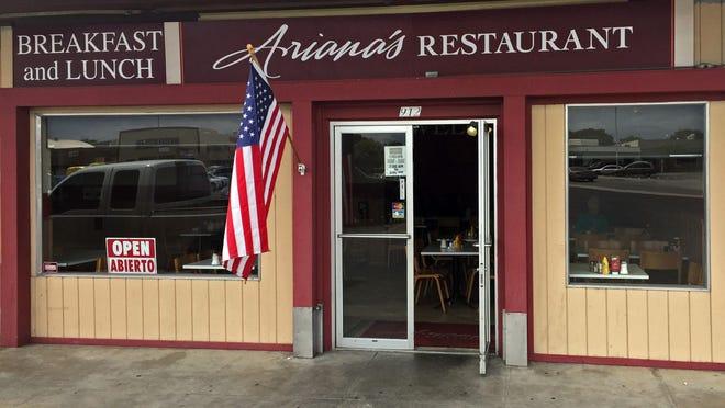 Ariana's on Park Row, South Salinas