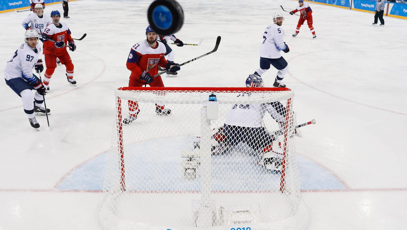 Czechs eliminate Team USA in hockey at 2018 Winter Olympics