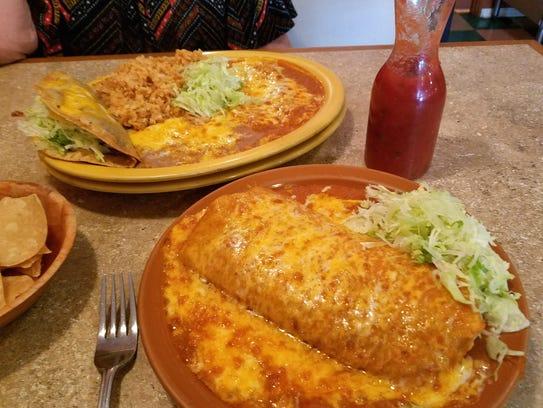 The big combination plates at Guayo's El Rey in Miami