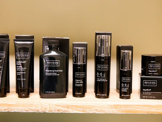 Revision Skincare's D.E.J. face creams help smoothness,