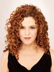 Bernadette Peters will play a concert as part of Broadway at the Basie.
