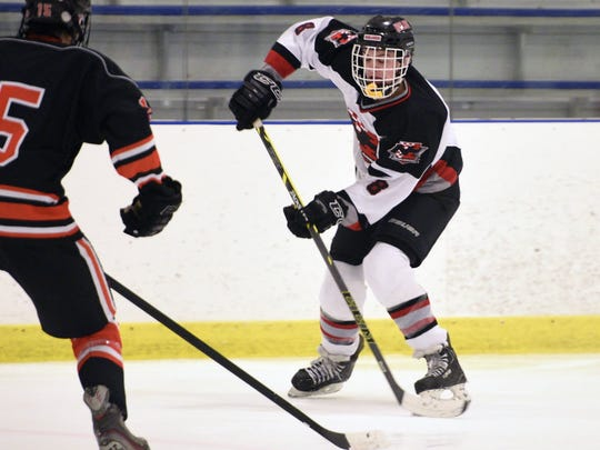Mark Cinotti of Northern Highlands had 17 goals and 19 assists through Feb. 19.