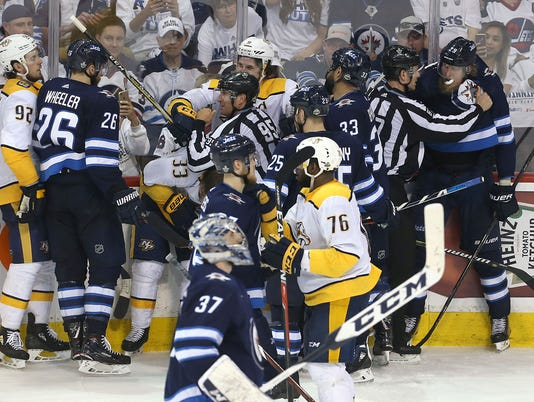 Nashville Predators v Winnipeg Jets - Game Six