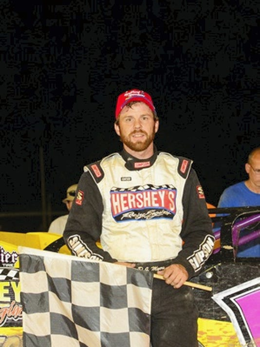 D.J. Myers captured the Limited Late Model race for the Blue Collar Classic at Port Royal last weekend.