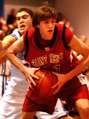Matt Otte, shown playing for St. Henry High School in 2003, will be the new head boys basketball coach at Conner.