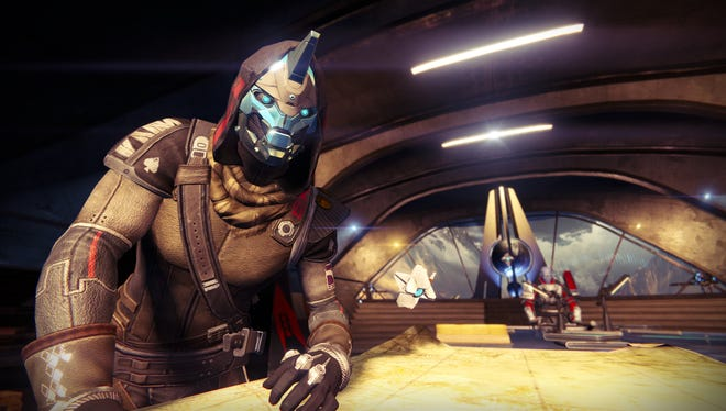 Screen shot from the upcoming video game 'Destiny,' from Bungie.