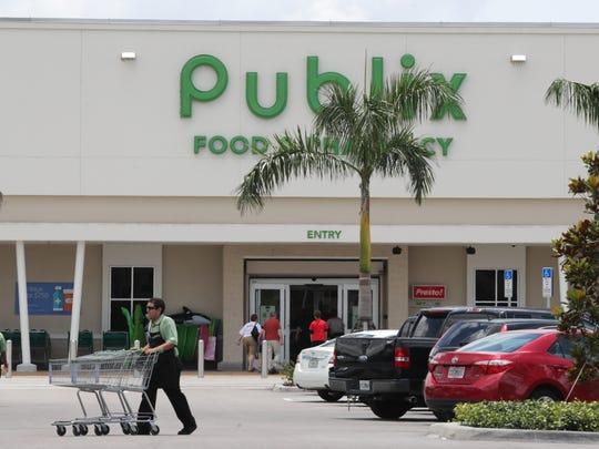 The new Publix-anchored Sky Walk Shopping Center.