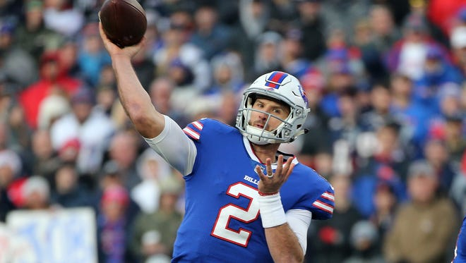 The Bills may be willing to give Nathan Peterman a chance to be their starting quarterback.