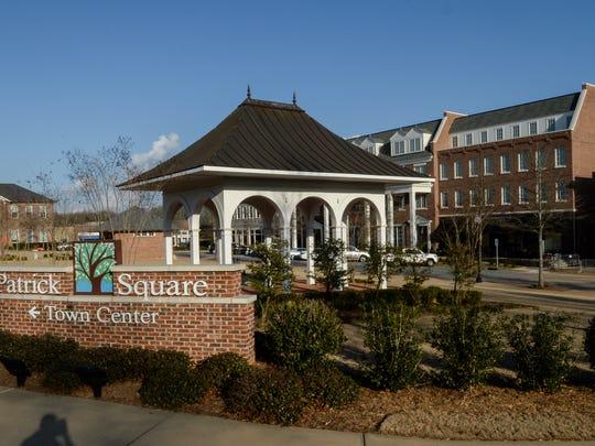 Patrick Square in Clemson.