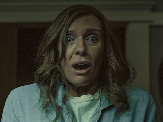 "Toni Collette stars as a grieving mom in ""Hereditary."""