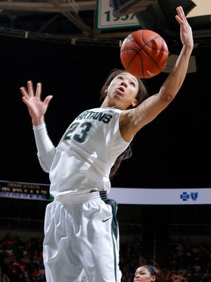 Michigan State's Aerial Powers became the first Spartan since 2011 to earn All-American recognition from the AP and WBCA.