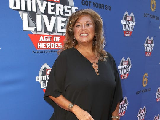 Abby Lee Miller arrives at an event in Los Angeles