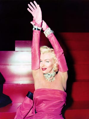 "Marilyn Monroe stars in 1953's ""Gentlemen Prefer Blondes."" June 1, 2016 marks the 90th anniversary of the actress' birth."