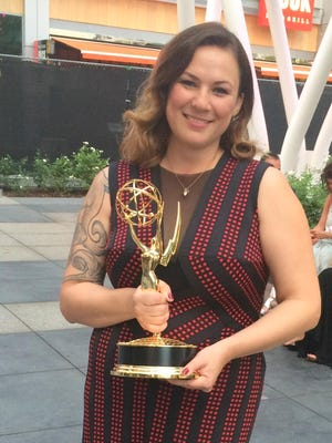 "Amy Wood, of New Orleans, La., the daughter of Zang and Pat Wood, of Farmington, and Sharon Wood of Marietta, Ga., won an Emmy on Sept. 12 for her work on the hairstyling team for the production of ""American Horror Story: Freak Show."" She has been styling hair for the entertainment industry for eight years."