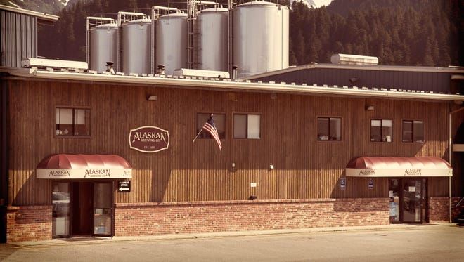 The Alaskan Brewing Co. brewery in Juneau, Alaska.