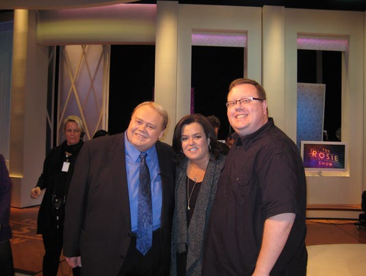 Louie Anderson, Rosie O'Donnell and Jason Schommer.JPG