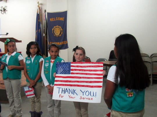Girl Scout Troop 50122.