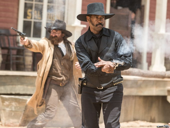 Denzel Washington stars in Columbia Pictures' THE MAGNIFICENT