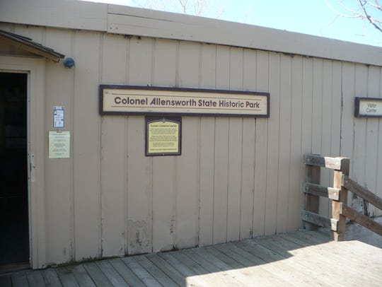 Clo. Allensworth State Park visitors' center.