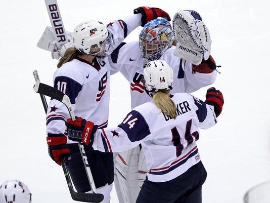 Hockey: Women-Canada at USA