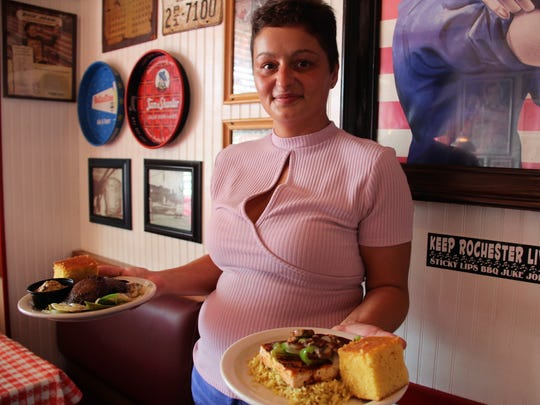 Gina Weidow, the catering manager at Sticky Lips, says