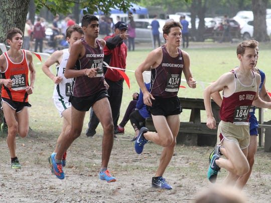 Ridgewood boys cross-country were the No. 1 team in The Record poll for the week of Sept. 23, 2017.