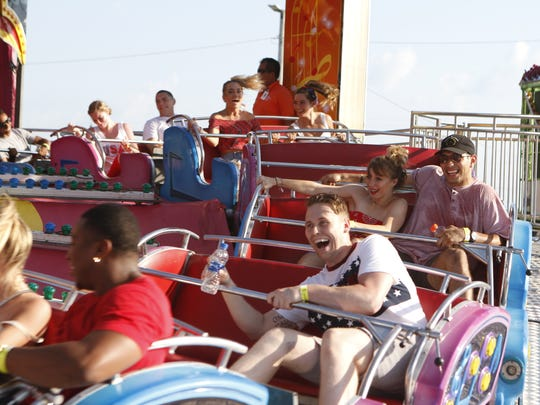 Fort Campbell hosted its annual July 4th carnival,