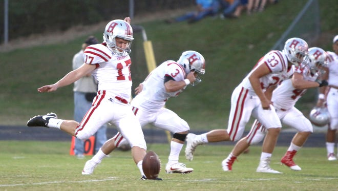 Hendersonville senior Drew Eudy has committed to play college football for Carson-Newman.