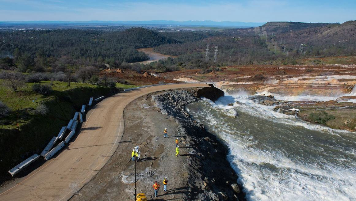 New storms could imperil Oroville where 200,000 were evacuated