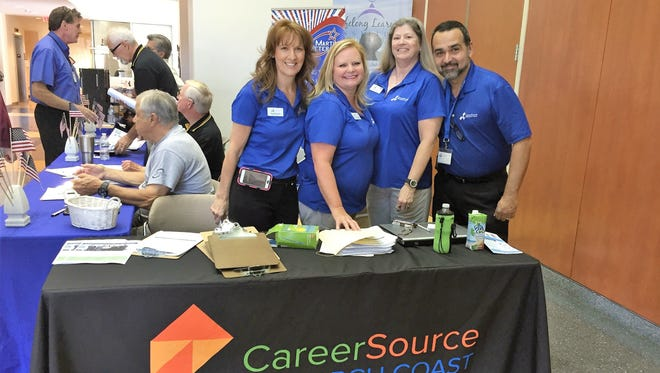 The CareerSource team can be found at job fairs throughout the region.