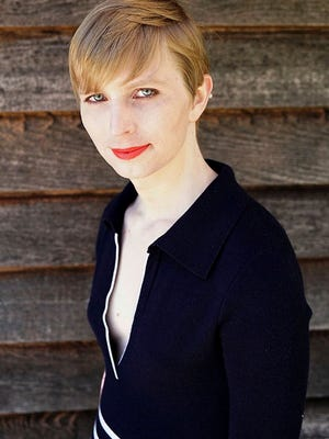 This undated file photo provided by Chelsea Manning shows a portrait of her that she posted on her Instagram account on Thursday, May 18, 2017. Manning has filed to run for the U.S. Senate in Maryland.