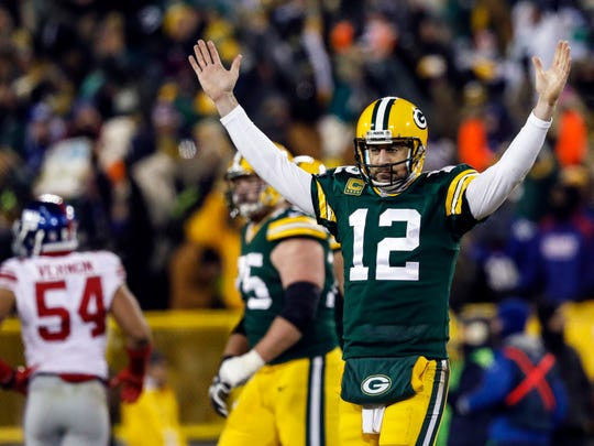 Aaron Rodgers and the Packers are riding a seven-game winning streak into Sunday's game at Dallas.