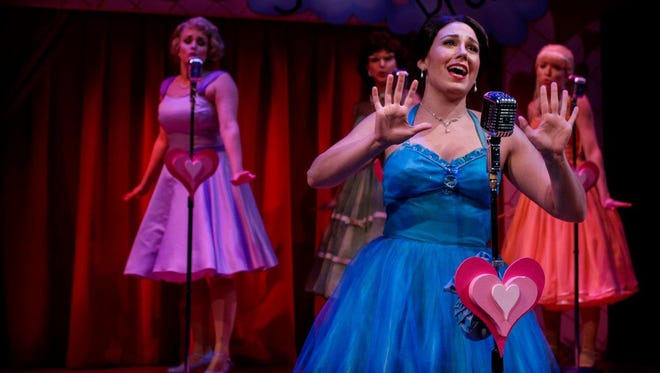 "Geva Theatre Center's ""The Marvelous Wonderettes"" continues through Saturday, Dec. 24, on the Fielding Nextstage."