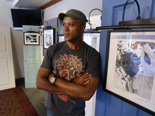 Keith Glover, playwright of Revival: The Resurrection of Son House.